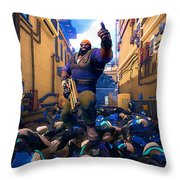 Agents Of Mayhem Throw Pillow