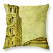 Ages Past Throw Pillow