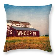 Aggie Barn 2015 Throw Pillow