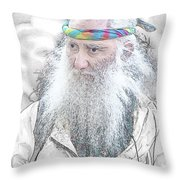 Aging Boomer Throw Pillow