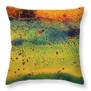 Aging In Colour 2 Throw Pillow