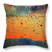 Aging In Colour Throw Pillow