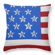 Agitate Throw Pillow by Otis L Stanley