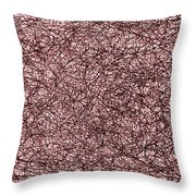 Agitating The Scanty Flame Throw Pillow