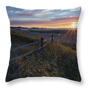 Aglow  Throw Pillow