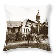 Agnews State Hospital San Jose Calif. 1906 Throw Pillow