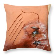 Agonise - Tile Throw Pillow