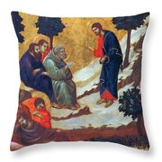 Agony In The Garden 1311 Throw Pillow