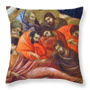 Agony In The Garden Fragment 1311 Throw Pillow