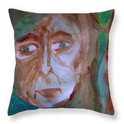 Agoraphobia Throw Pillow