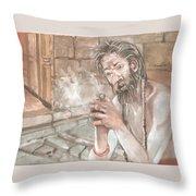 Agori Throw Pillow