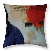 Agreed To Agree Throw Pillow
