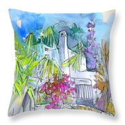 Agua Amarga 02 Throw Pillow
