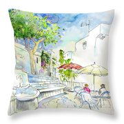 Agua Amarga 10 Throw Pillow