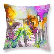 Agua Amarga Fantasy 01 Throw Pillow