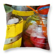 Agua De Hamaica Throw Pillow