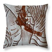 Ahead - Tile Throw Pillow