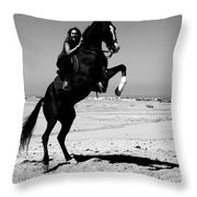 Ahead Is The Only Way  Throw Pillow