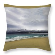 Ahead Of Sandra Throw Pillow