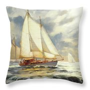 Ahead Of The Storm Throw Pillow