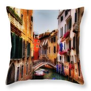 Ahh Venezia Throw Pillow