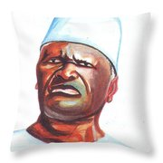 Ahmed Sekou Toure Throw Pillow