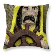 Ahoy Mate Throw Pillow