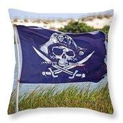 Ahoy Ye Matey Throw Pillow