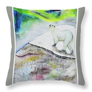 Ahroarah Borealis Throw Pillow