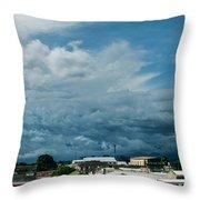 Ahuachapan Color 3 Throw Pillow
