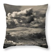 Ahuachapan Color And Infrared Throw Pillow