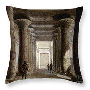 Aida Set, 1871 Throw Pillow