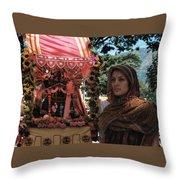 Aide-de-camp Throw Pillow