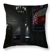 Aids Interfaith Memorial Chapel - San Francisco Throw Pillow