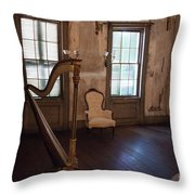 Aiken Rhett House Living Room Throw Pillow