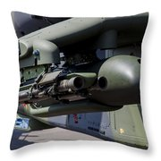 Aim-92 Stinger Weapon And Gunpod Throw Pillow
