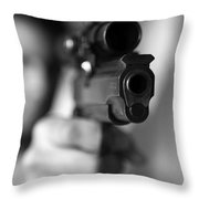 Aim Throw Pillow