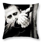 Aim Throw Pillow