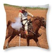 Aim..fire..pop Throw Pillow