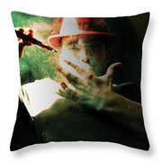Aint Throw Pillow by John Jr Gholson