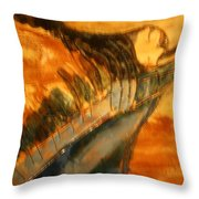 Air - Tile Throw Pillow