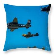 Air America Throw Pillow