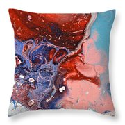 Air And Water Throw Pillow