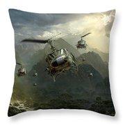 Air Assault Throw Pillow