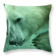 Air Bubble Throw Pillow