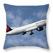 Air Canada Boeing 777-233 Throw Pillow