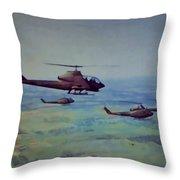 Air Cav Throw Pillow