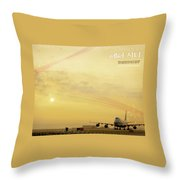 Air City Throw Pillow