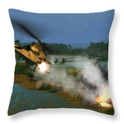 Air Conflicts Vietnam Front Throw Pillow