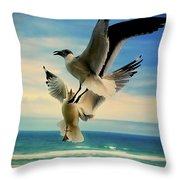 Air Dance Throw Pillow